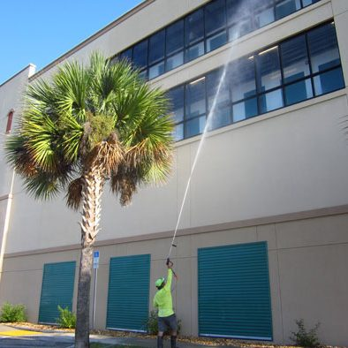 Commercial softwashing Orlando