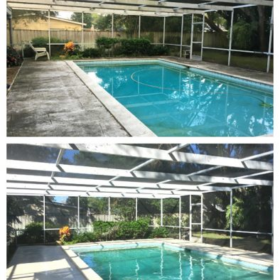 Lanai cleaning Orlando, Windermere by Wash Rite
