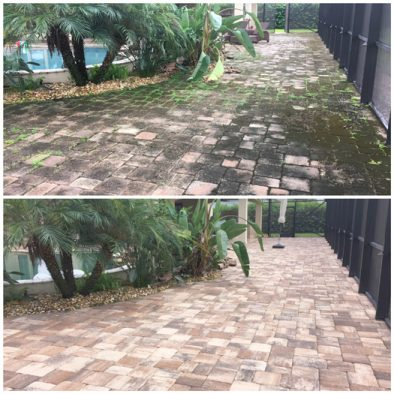 Paver cleaning Orlando