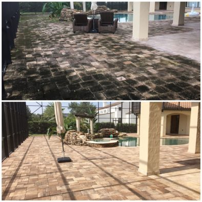 Paver cleaning Orlando by Wash Rite of Cleaning