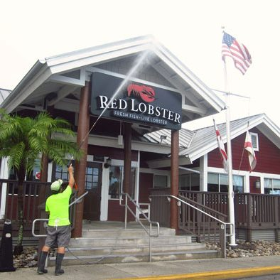 Restaurant pressure washing Orlando