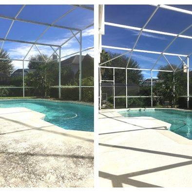 Screen enclosure cleaning Orlando