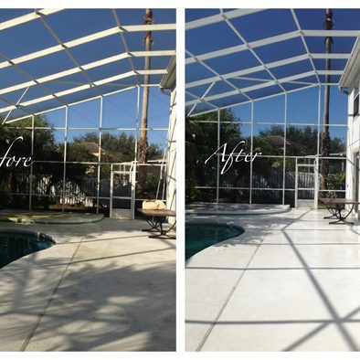 Screen enclosure cleaning Windermere Orlando