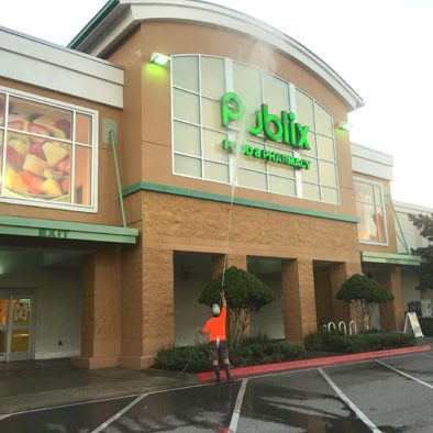 Supermarket pressure washing Orlando